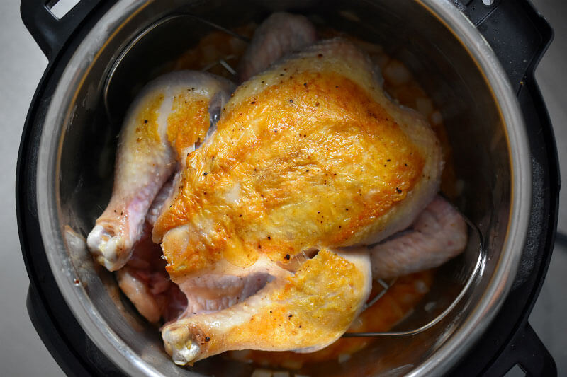 Chicken instant pot