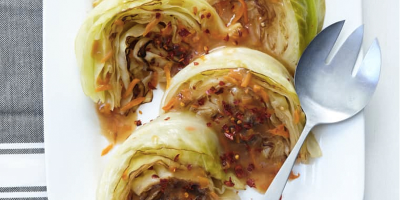 Recipe: Sweet and Spicy Braised Cabbage