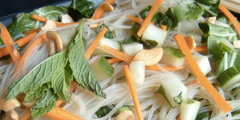 Recipe: Vietnamese Rice Noodle Salad